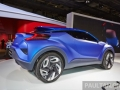 Toyota C-HR Concept Side And Rear View