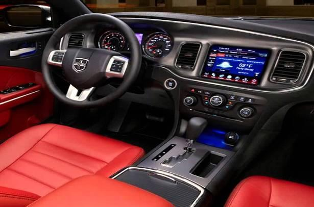 2017 Dodge Challenger Dashboard