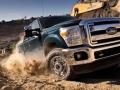 2016 Ford Super Duty Truck Close up