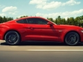 2016 Mustang Shelby GT350R Side View Red
