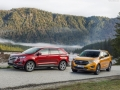2019 Ford Edge red and yellow