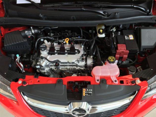 2015 Opel Karl Engine