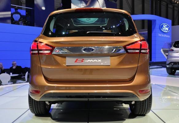 2016 Ford B Max Rear