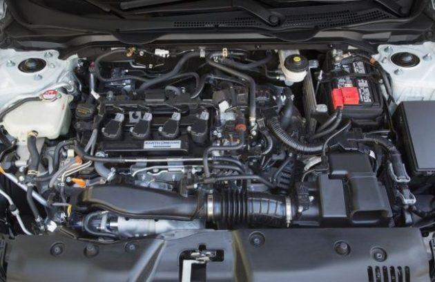 2016 Honda Civic Engine