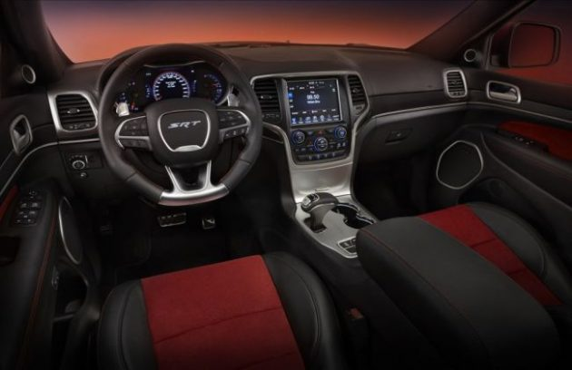 2016 Jeep SRT8 Hellcat Interior