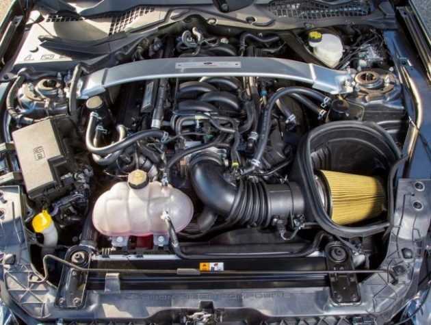2016 Mustang Shelby GT350R Engine