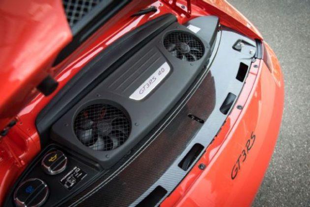 2016 Porsche 911 GT3 RS Engine