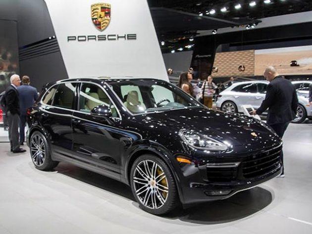 2016 Porsche Cayenne Exterior