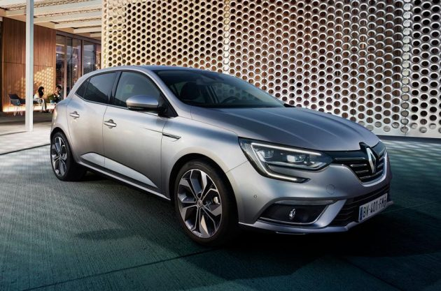 2016 Renault Megane exterior