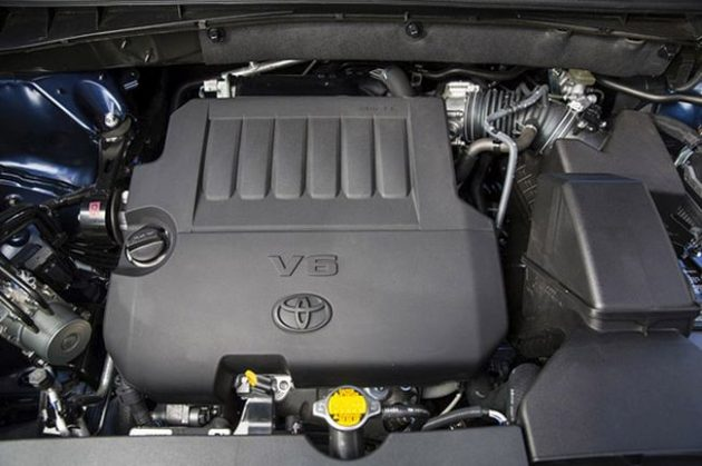 2016 Toyota Highlander Engine