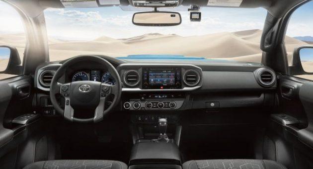 2016 Toyota Tacoma Dashboard