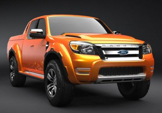 2017 Ford Ranger Front Right Side