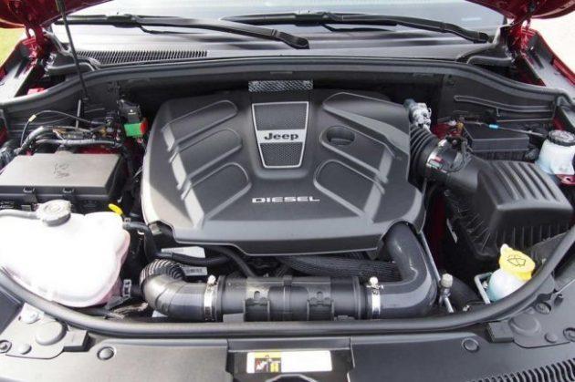2017 Jeep Grand Cherokee SRT8 Hellcat Engine