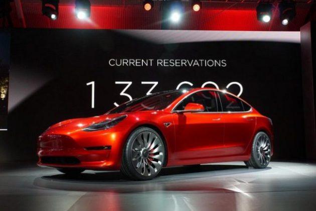 2017 Tesla Model 3 Beauty