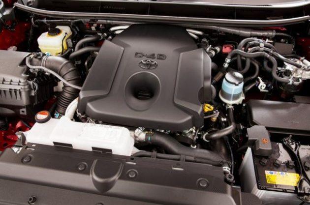 2017 Toyota Land Cruiser Engine
