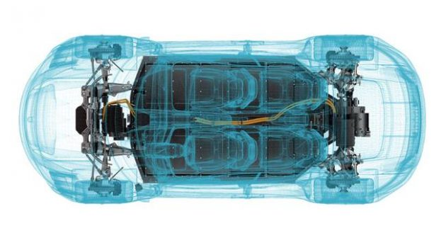 Porsche Mission E Engine