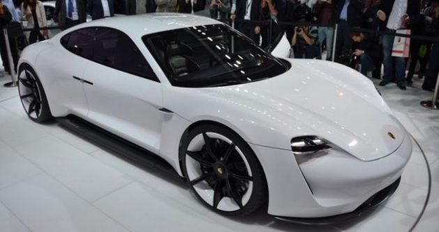 Porsche Mission E Exterior