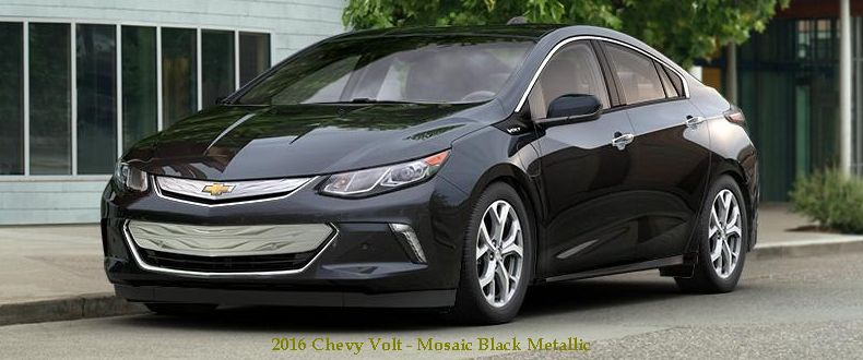 2016 Chevy Volt Mosaic Black Metallic