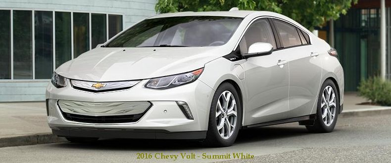 2016 Chevy Volt Summit White