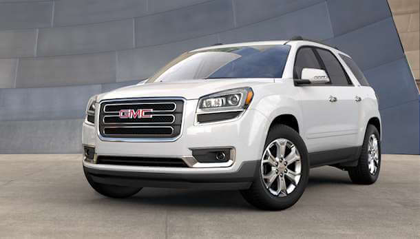 2016 Gmc Acadia Colors Summit White
