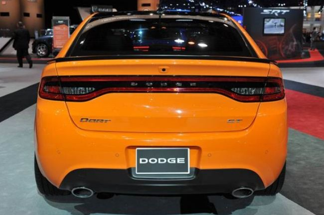 2017 Dodge Dart Srt4 Rear
