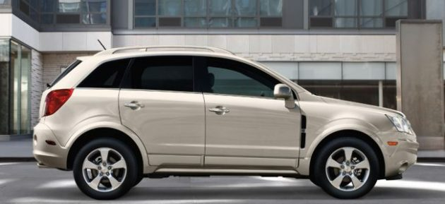 2016 Chevrolet Captiva Side View