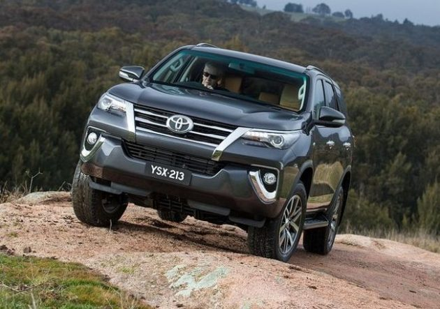 2016 Toyota Fortuner Hills