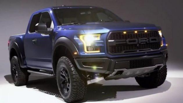 2018 Ford Raptor Colors Specs