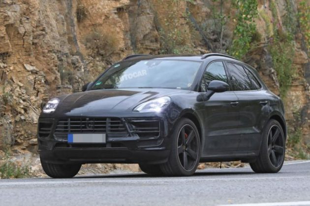 2019 Porsche Macan Spy Photos Source Motorauthority