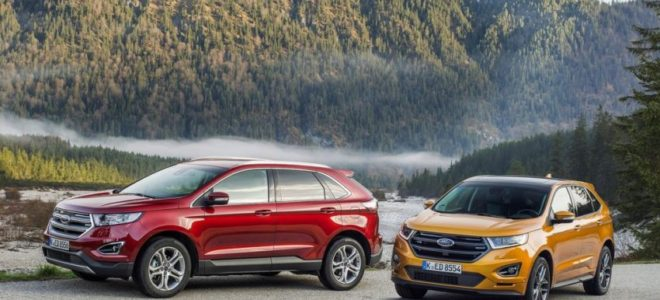 Ford Edge Redesign Changes